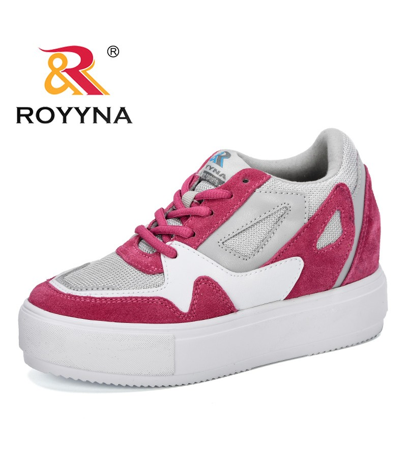 ROYYNA 2019 New Style Mesh Tenis Fashion Casual Shoes Woman Flats Female Platform Chaussure Femme Sneakers Shoes Trendy Footwear