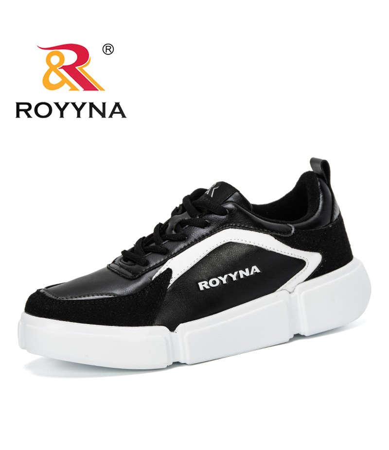ROYYNA 2019 New Style Sneakers Women Autumn Tenis Fashion Casual Shoes Woman Breathable Flats Female Platform Chaussure Feminimo