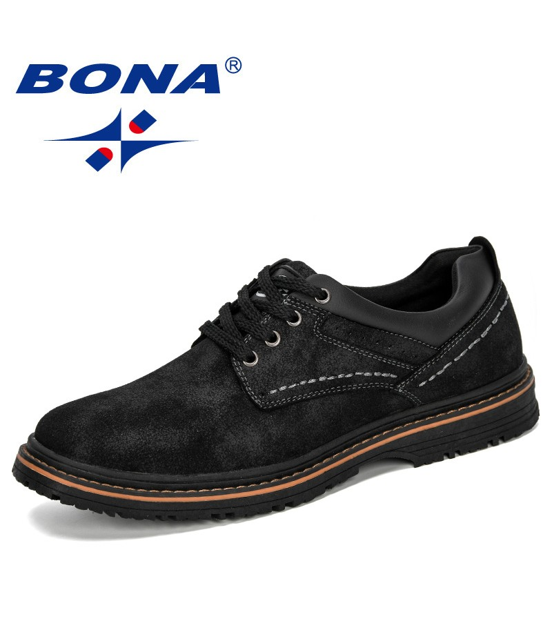 BONA 2019 New Designer Style Casual Shoes Men Hot Sale Dad Men Leisure Footwear Men Comfortable Chunky Sneakers Zapatos Hombre