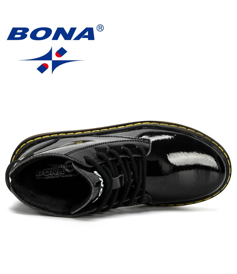 BONA 2019 New Designer Winter Kids Snow Boots Outdoor Children Shoes For Boys Sneakers Fashion Child Shoes For Girls Ankle Boots