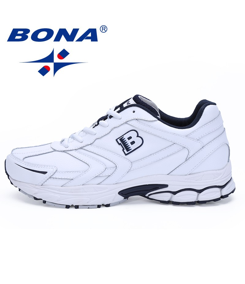 BONA Shoes made in China Men Running Shoes Lace Up Sport Shoes Men Outdoor Jogging Walking Athletic Shoes Male For Retail