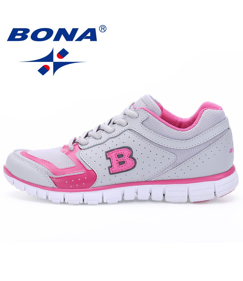 BONA New Arrival Popular Style Women Walking Shoes Lace Up Athletic Shoes Outdoor Jogging Sneakers Comfortable Free shipping