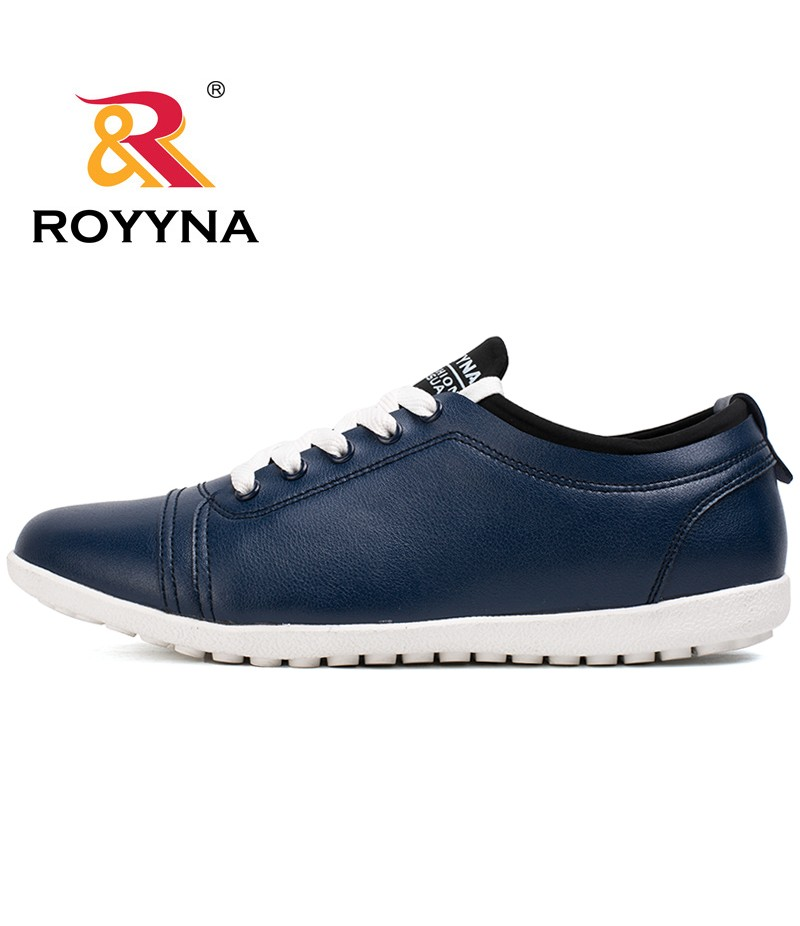 ROYYNA New Arrival Hot Style Men Casual Shoes Lace Up Microfiber Men Shoes Comfortable Men Flats Light Soft Fast Free Shipping