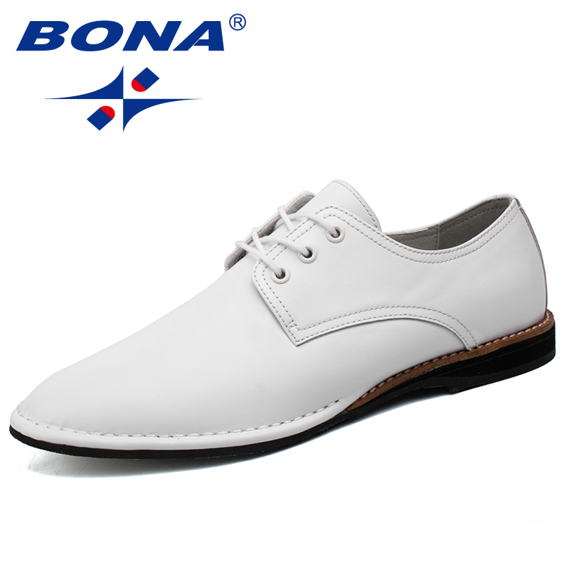 BONA New Arrival Fashion Style Men Casual Shoes Lace Up Men Shoes Comfortable Men Flats Light Soft Men Loafers Free Shipping