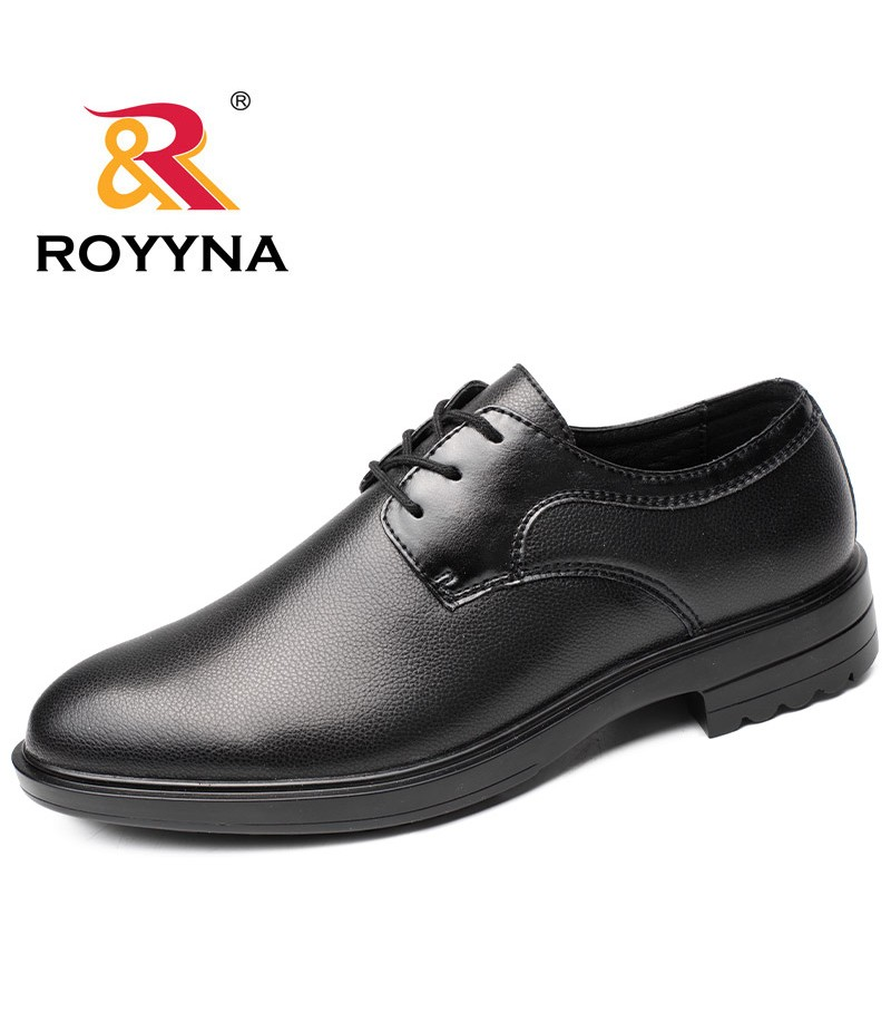 ROYYNA New Arrival Hot Style Men Formal Shoes Lace Up Round Toe Men Shoes Comfortable Light Soft Men Office Shoes Free Shipping