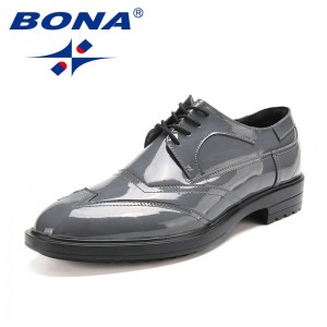 BONA New Popular Style Men Office Shoes Lace Up Men Shoes Microfiber Men Oxfords Comfortable Fashionable Light Free Shipping