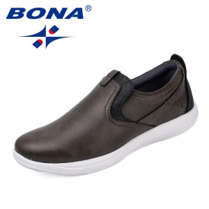 BONA New Arrival Classics Style Women Casual Shoes Elastic Band Women Shoes Synthetic Lady Flats Comfortable Fast Free Shipping