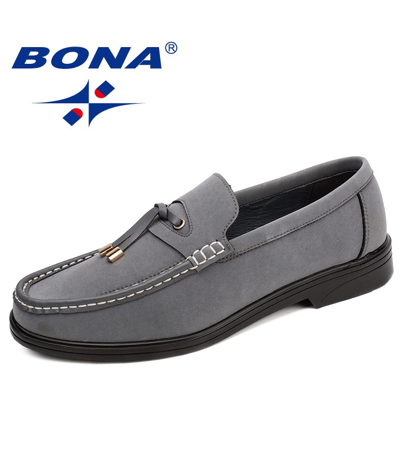 BONA New Arrival Style Men Casual Shoes Slip-On Men Boat Shoes Microfiber Men Leisure Shoes Comfortable Soft Fast Free Shipping