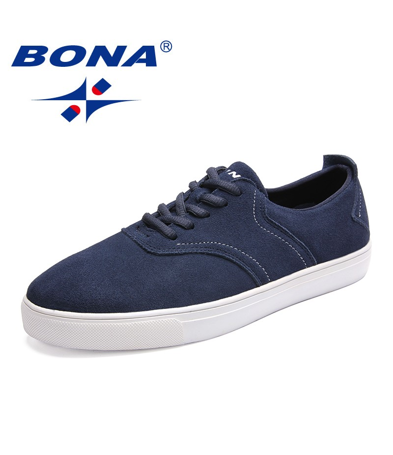 BONA New Arrival Classics Style Men Casual Shoes Lace Up Men Loafers Outdoor Fashion Sneakers Comfortable Fast Free Shipping