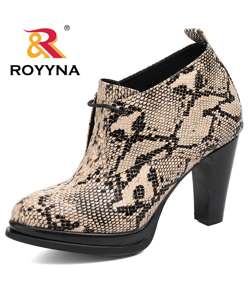 ROYYNA New Fashion Style Women Pumps Round Toe Women Shoes Lace Up Ladies Dress Shoes Comfortable Soft Light Fast Free Shipping