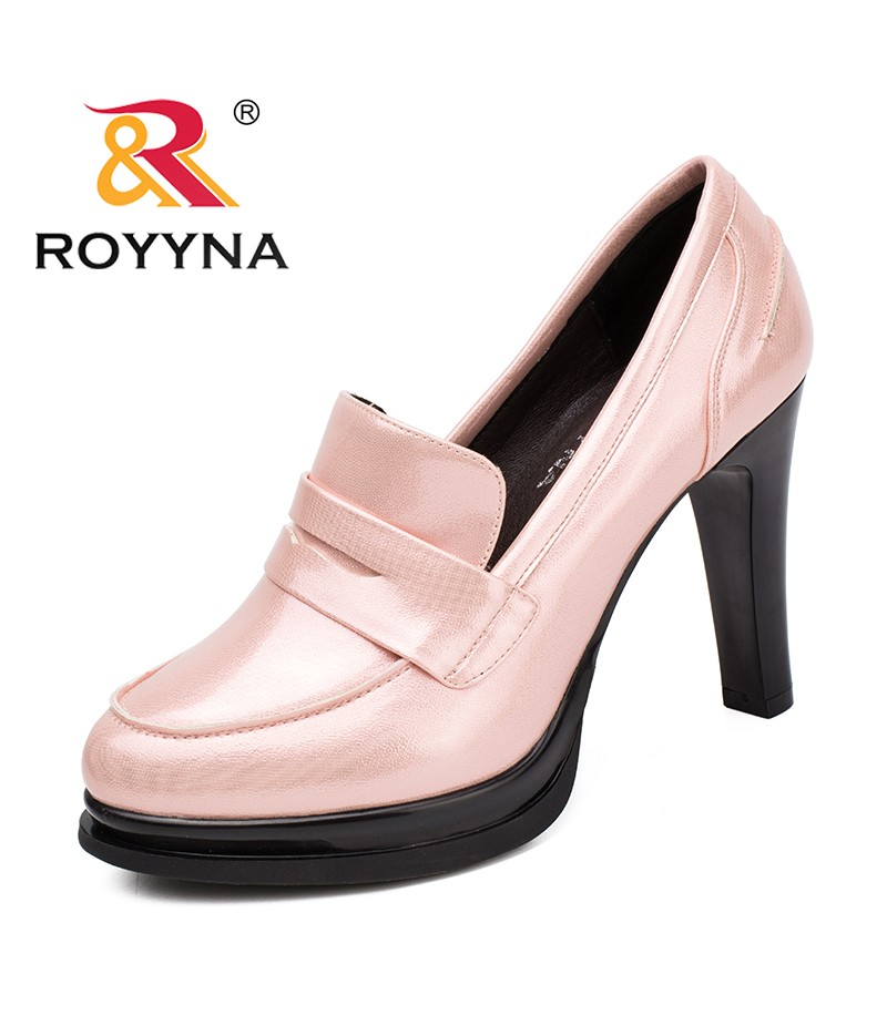 ROYYNA New Classics Style Women Pumps Platform Women Office Shoes More Color Women Dress Shoes Comfortable Fast Free Shipping