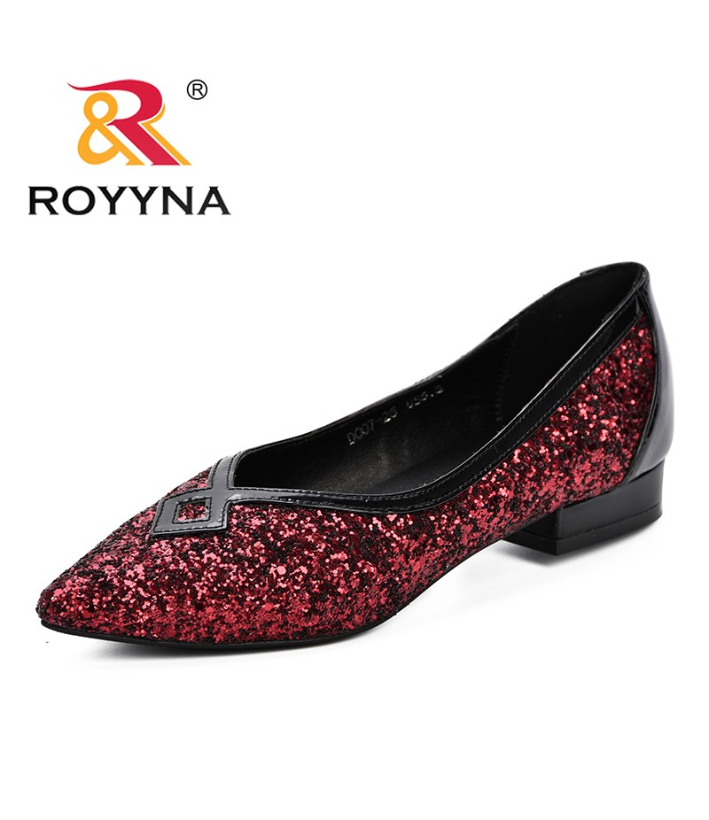 ROYYNA New 2019 PVC Women Pumps Sexy Clear Transparent Lace Up Lower Heels Party Sandalias Women Shoes Sapatos Feminimo D007-25