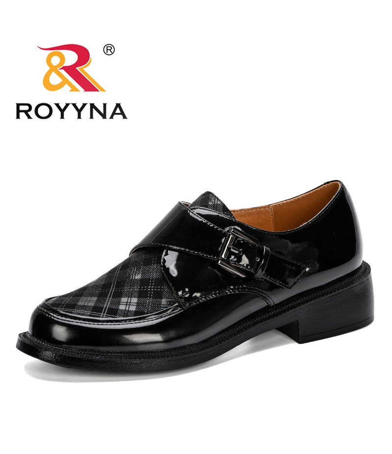 ROYYNA 2019 New Classics Style Women Pumps Shoes Women Round Toe Mid Heels Dress Work Shoes Mixed Color Lady Wedding Shoes Comfy