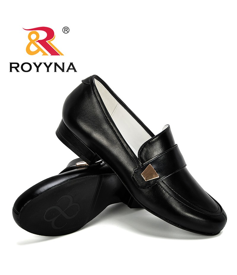 ROYYNA 2019 New Designer Office Women Shoes Low Heel Dress Shoes Round Toe Woman Boat Shoes Zapatos Mujer Comfortable Trendy
