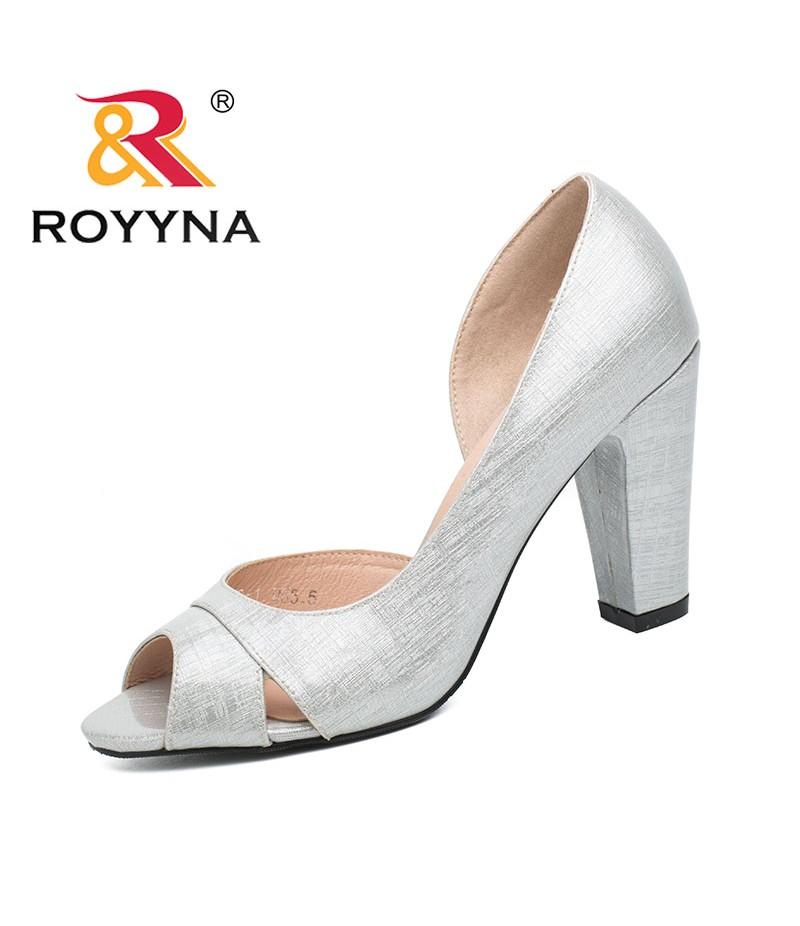 ROYYNA New Style Women Pumps Shallow Women Shoes High Heels Lady Wedding  Shoes Comfortable Light Size ... 43f9b7dba130