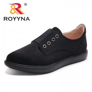 ROYYNA New Arrival Classics Women Elastic Band Women Casual Shoes Flock Lady Leisure Shoes Comfortable Fast Free Shipping