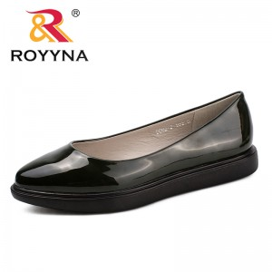 ROYYNA New Arrival Classics Style Women Flats Pointed Toe Women Loafers Slip-On Women Wedding Shoes Comfortable Free Shipping