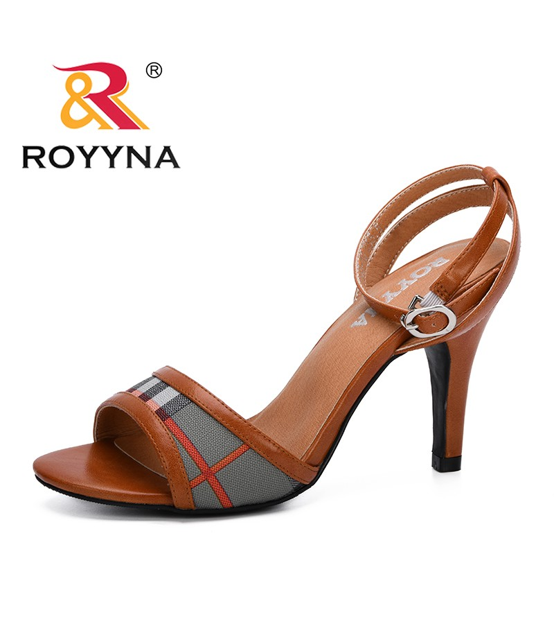 ROYYNA 2019 New Fashion Style Summer Shoes Women Sandals New Open Toe Summer Sandals Comfortable Shoes Feminimo Trendy Soft Shoe