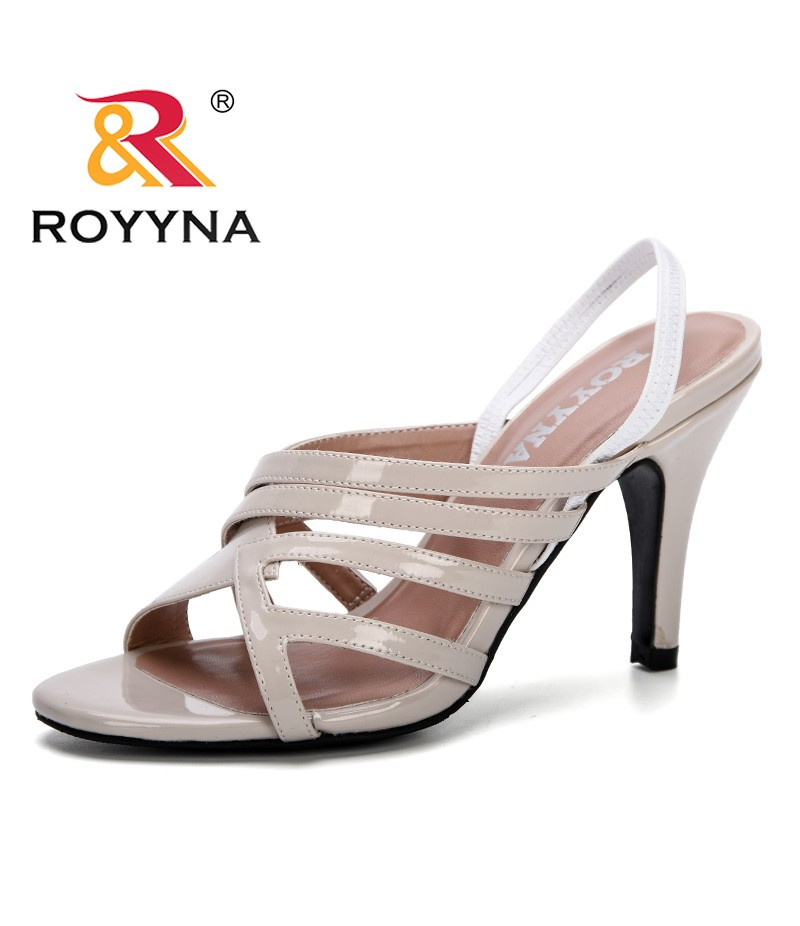 ROYYNA 2019 New Summer Women Concise Open Toe Casual Shoes Woman Shoes Fashion High Heels Wedges Sandals Feminimo Comfortable