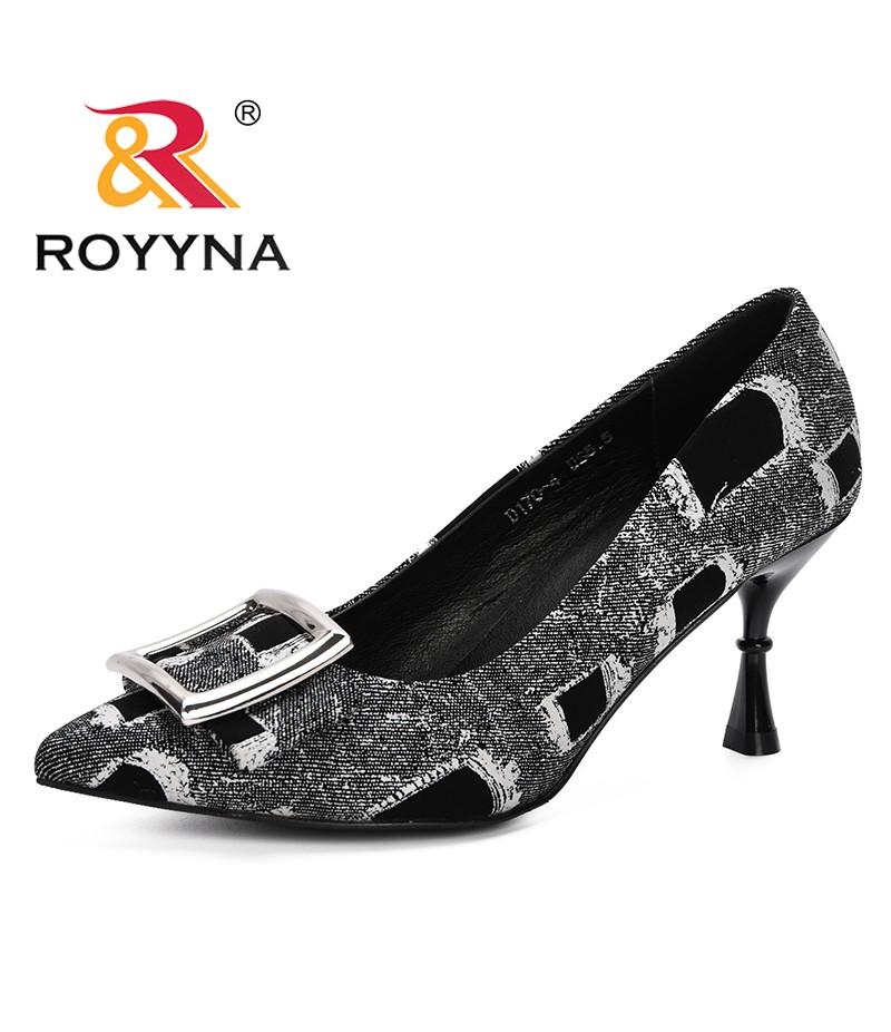 ROYYNA 2019 Spring Autumn New Designer Style Women Pumps High Heels Shoes Strange Heels Wedding Shoes Women Summer Pumps Trendy