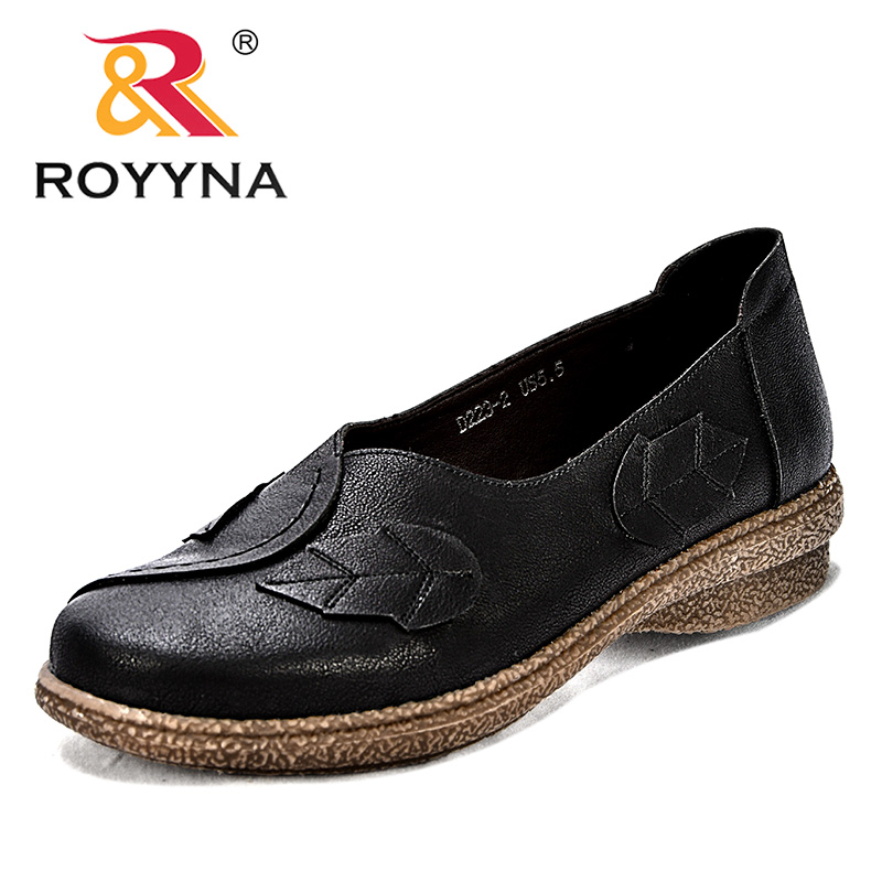 ROYYNA New Popular Style Women Casual Shoes Synthetic Female Leisure Shoes Round Toe Lady Flats Comfortable Fast Free Shipping