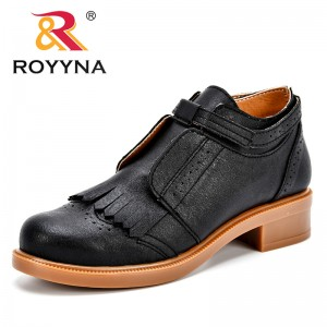 ROYYMA New Arrival Fashion Style Women Pumps Slip-On Round Toe Feminimo Dress Shoes Synthetic Tassels Lady Leisure Shoes