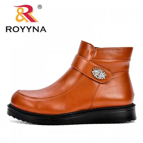 ROYYNA Women Ankle Boots 2018 Autumn
