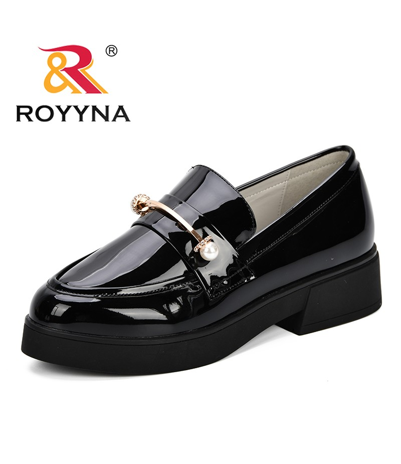 ROYYNA New Arrival Classics Style Popular Women Pumps Shoes Fashion Office Work Heels Shoes Elegant Ladies Low Heel Dress Shoes