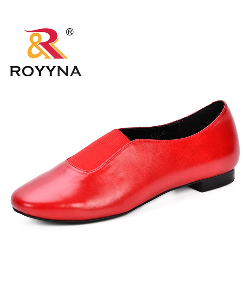 ROYYNA New Designer Shoes Women Pumps 2018 Autumn Fashion Work Microfiber Shoes High Quality Woman Shoes Trendy Zapatos Mujer