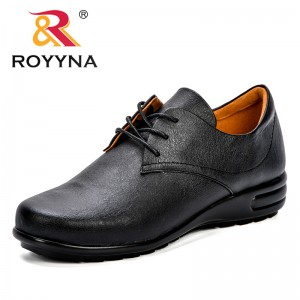 ROYYNA New British Style Breathable Women Casual Shoes Female Personality Flat Shoes Woman Footwear Lady Trendy Leisure Shoes