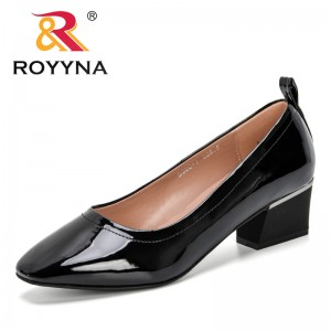 ROYYNA 2019 New Fashion Female Pumps Shallow Women Shoes Fashion Office Work Wedding Party Shoes Ladies Low Heel Shoes Trendy