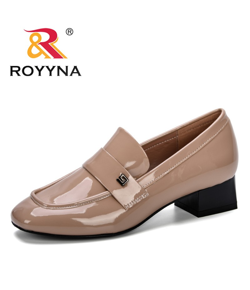 ROYYNA 2019 Spring Autumn Women Pumps Casual Slip On Office Low Heel Shoes Ladies 2018 Leisure Female Footwear Comfortable