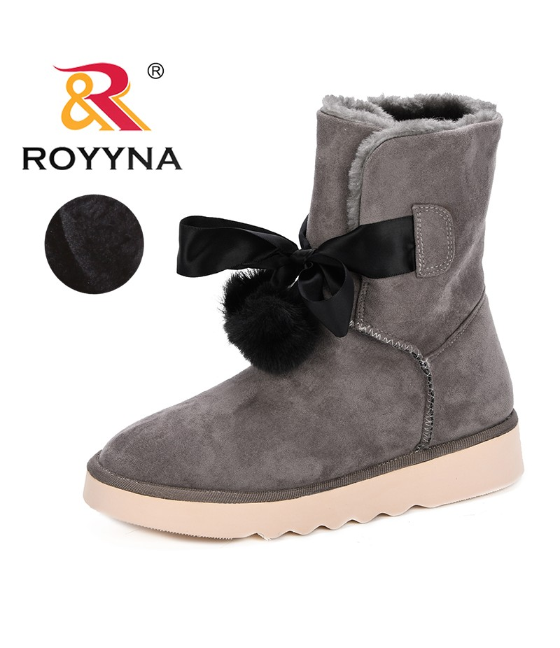 8df38c9cd89 ROYYNA New Winter Snow Boots Sequins Classic Women Short Boots 2019 Autumn Winter  Fashion Women's Shoes ...