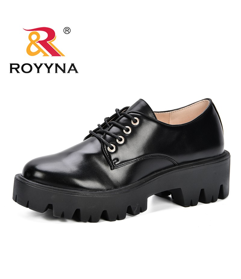 ROYYNA 2019 Spring Autumn Lady High Heel Shoes Women Thick Heels Pumps Round Toe Party Vacation Leisure Female Footwear Trendy
