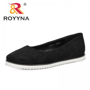 ROYYNA 2019 Spring Autumn New Designer Sweet Platform Single Shoes Low Heel Women's Shoes Comfortable Shallow Dress Shoe Female