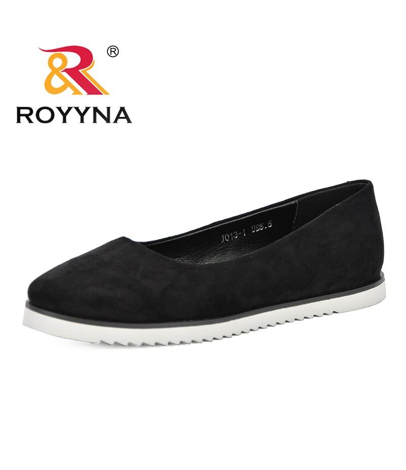 ROYYNA 2019 Spring Autumn New Designer Sweet Platform Single Shoes Low Heel Women's Shoes Comfortable Shallow Dress Shoe Female