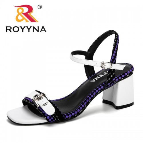 Buckle Design Roman Sandals Women