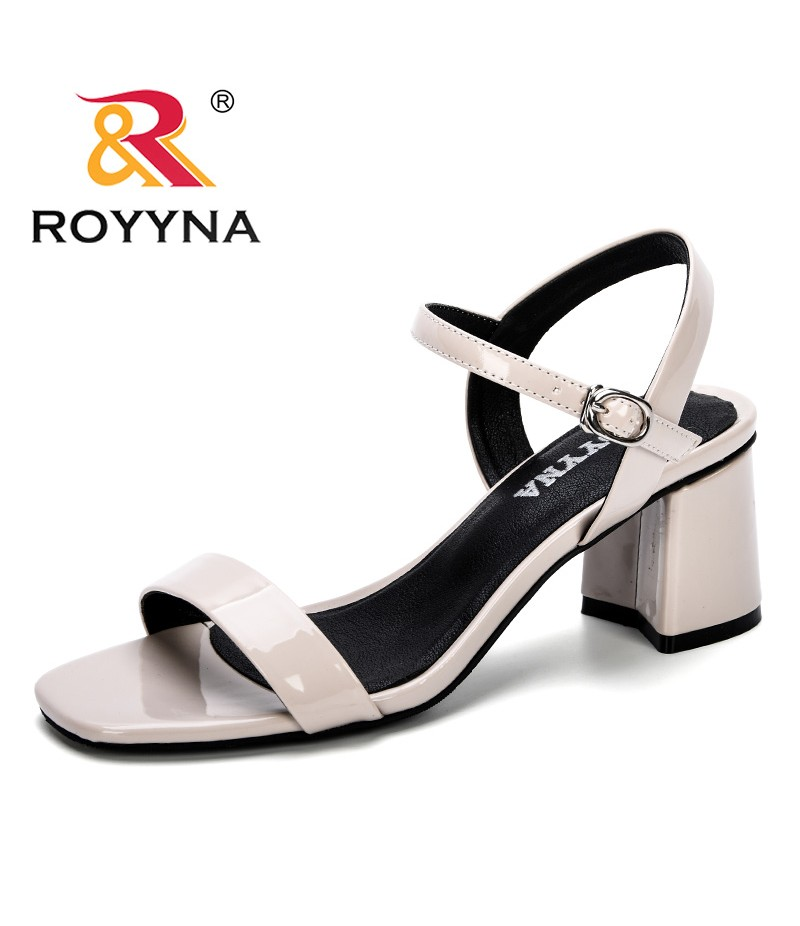 ROYYNA 2019 New Woman Sandals Comfy Summer Women Concise Open Toe Casual Shoes Woman Fashion Thick Bottom Wedges Sandal Feminimo
