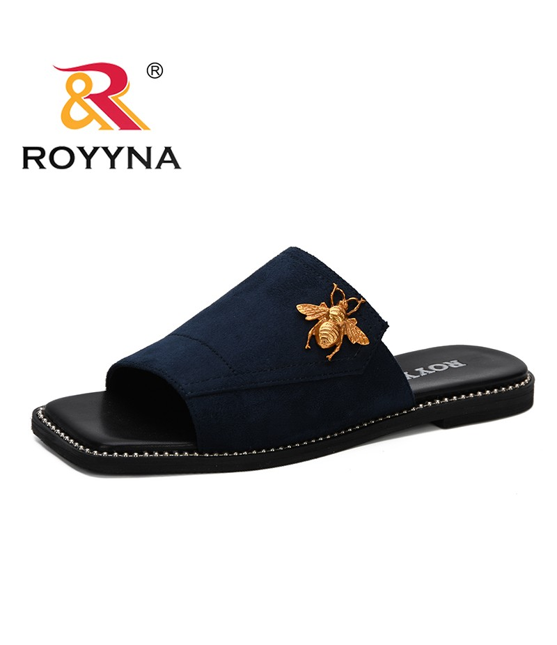 ROYYNA 2019 New Women Slippers Fashion Summer lovely Non-Slip Woman Slippers Casual Beach Flip Flops Slides Woman Shoes Trendy