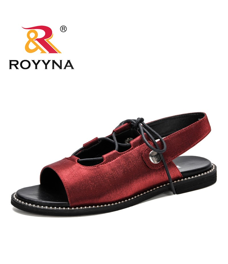 ROYYNA 2019 New Fashion Style Women Classic Sandals Shoes Ladies Casual Summer Shoes Gladiator Female Leisure Footwears Trendy
