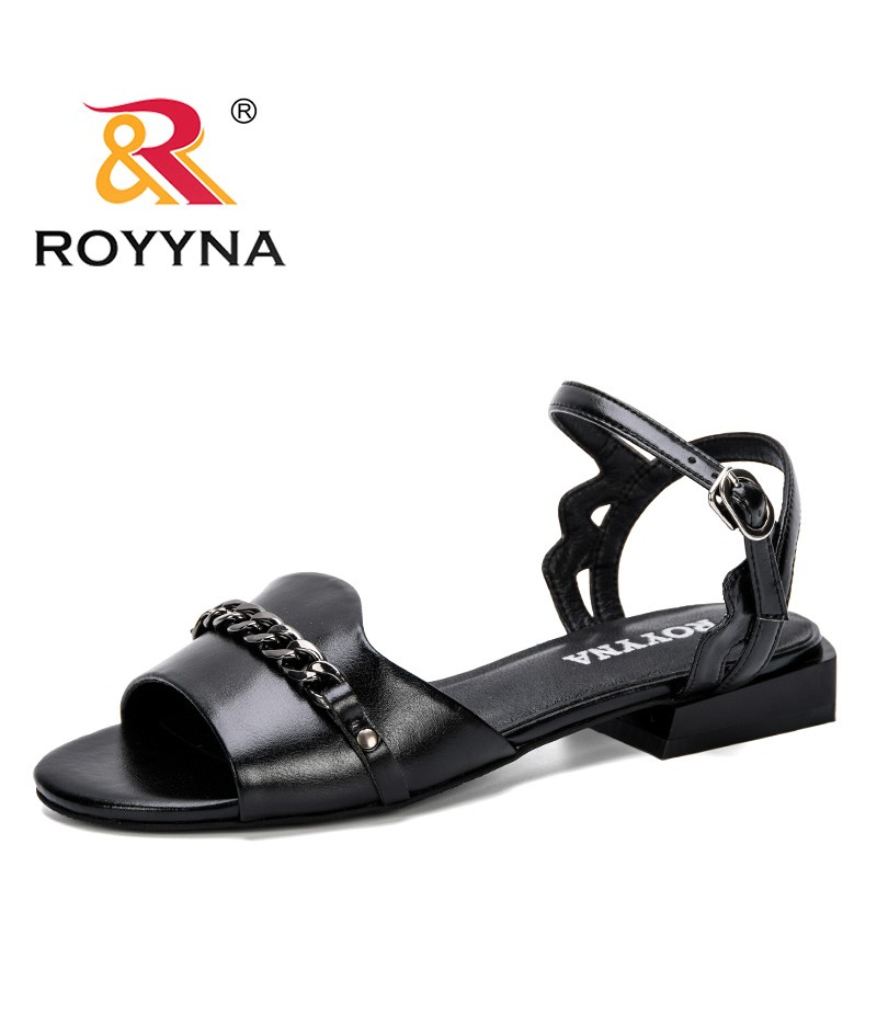 ROYYNA 2019 New Style Summer Comfortable Ladies Shoes Beach Gladiator Sandal Women Casual Female Flat Sandals Bohemia Trendy