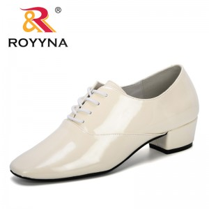 ROYYAN 2019 New Designer Fashion Style Women Shoes Round Toe Pumps Woman Dress Heels Shoes Wedding Shoes Women Zapatos Mujer