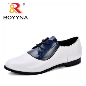 ROYYNA 2018 Spring Autumn New Designer Shoes Women Leather Casual Shoes Women's Pumps Mother Comfortable Footwear Free Shipping