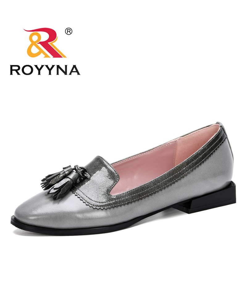 ROYYNA 2019 New Style Female Pumps Shallow Women Shoes Fashion Office Work Wedding Party Shoes Ladies Low Heel Shoes Comfy