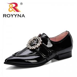 ROYYNA 2019 Women Pumps 2019 New Designer Women Pumps Fashion Women Pointe Toe Shoes Rhinestone Ladies Shoes Classic Pumps Comfy