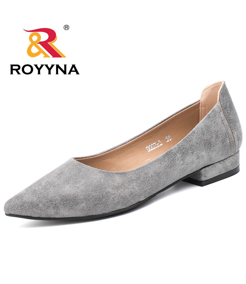 ROYYNA New Loafers Women Pointed Toe Flexible Casual Fashionable Popular Women Flats Comfortable Soft Fast Free Shipping