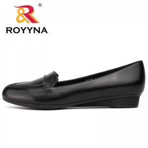 ROYYNA New Women Flats Pointed Toe Women Shoes Colorful Women Mature Style Women Casual Shoes Soft Fast Free Shipping
