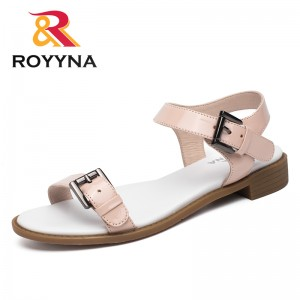 ROYYNA New Classics Style Women Sandals Outdoor Walking Summer Shoes Plats Comfortable Women Slippers Soft Fast Free Shipping