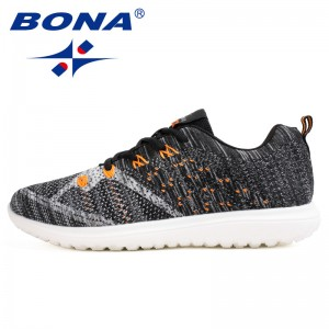 BONA  Chinese Shoes manufacture  Men Walking Shoes Outdoor Jogging Sneakers Lace Up Men Athletic Shoes Comfortable Free Shipping