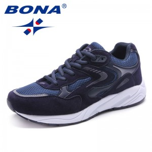BONA New Arrival Classics Style Women Running Shoes Lace Up Women Athletic Shoes Outdoor Jogging Sneakers Soft Free Shipping